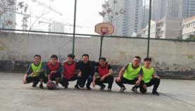 康禾立丰冬季篮球赛,燃烧寒冬